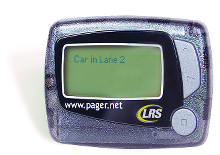 "Pager ""Push for Service"""